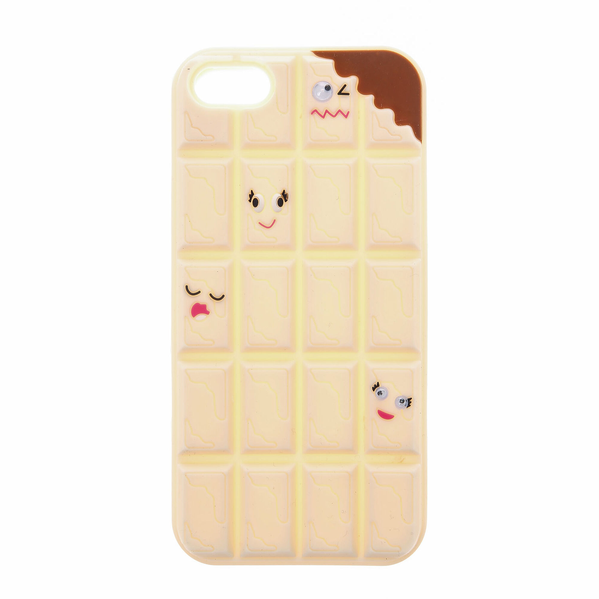 White Chocolate Chunks Phone Case | Claire's