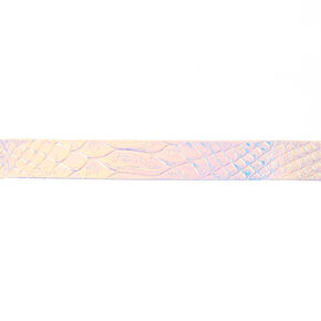 Holographic Mermaid Choker Necklace,