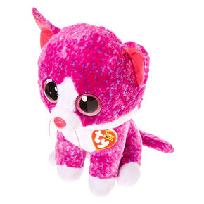 TY Beanie Boos Large Charlotte The Cat Plush Toy,