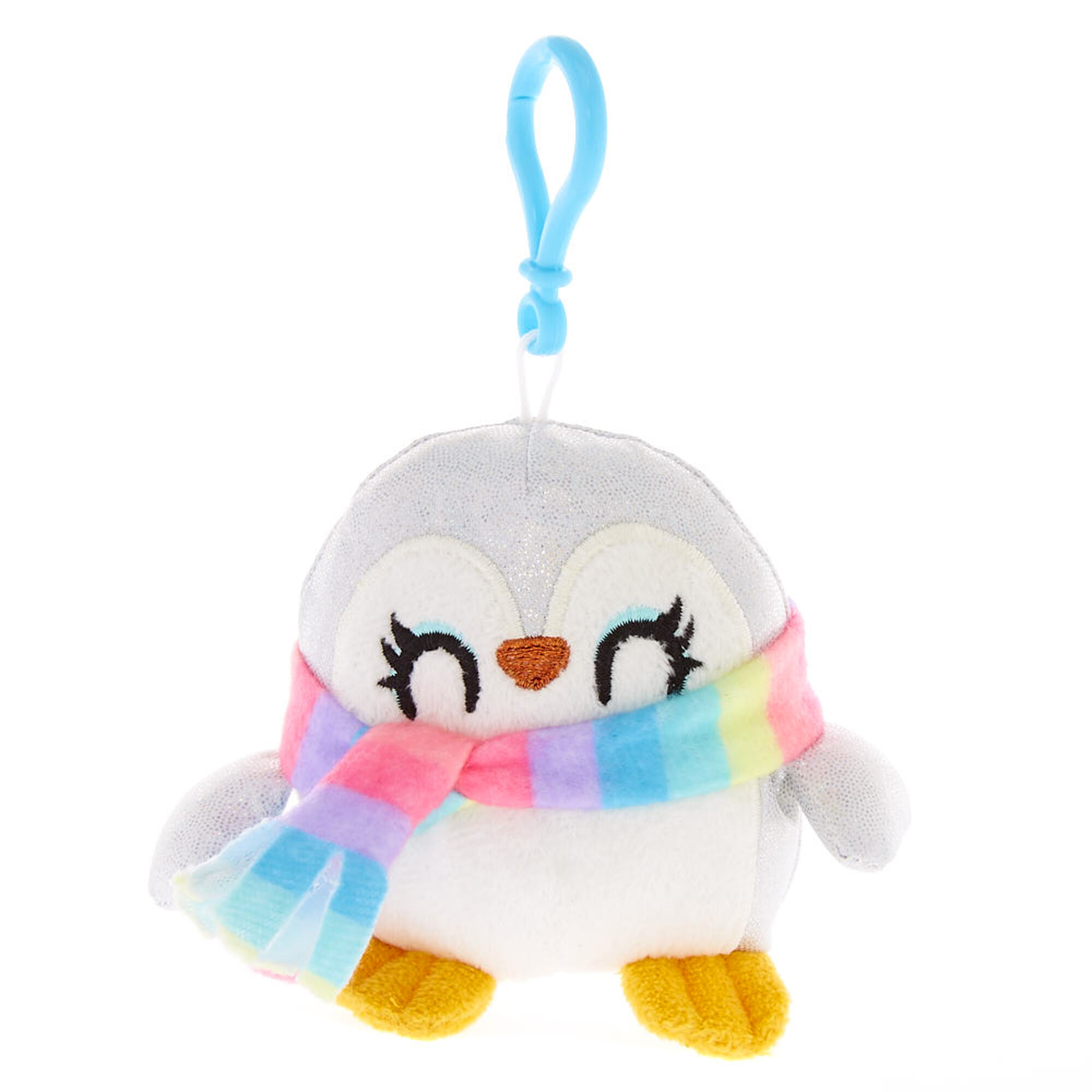 Peppie the Penguin Mini Soft Toy Keyring Clip