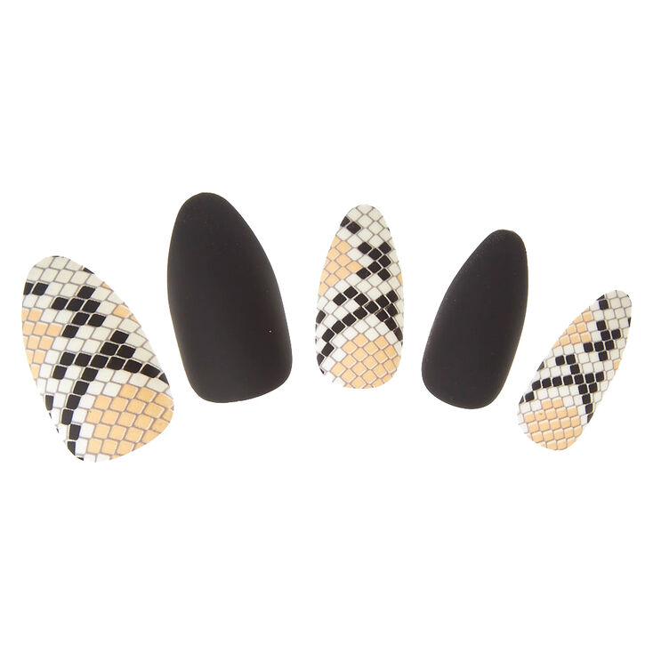 Snake Skin Faux Nails at Icing in Victor, NY | Tuggl