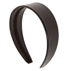 Wide Black Headband,