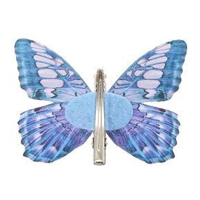Blue Butterfly Hair Clip,