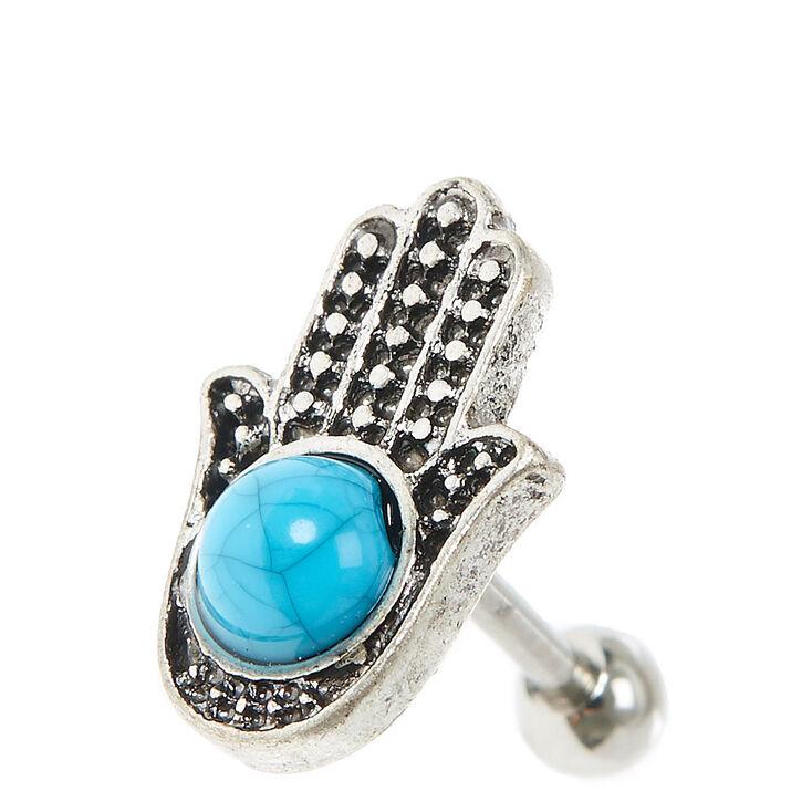 Hamsa Hand Tragus Earring,