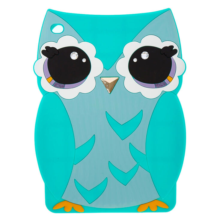 mint owl ipad mini silicone case claire 39 s us. Black Bedroom Furniture Sets. Home Design Ideas