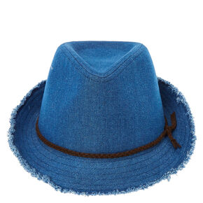 Blue Denim Fedora,