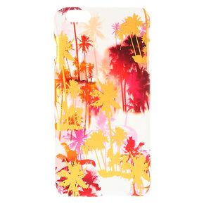 Metallic Sunset Palm Trees Phone Case,