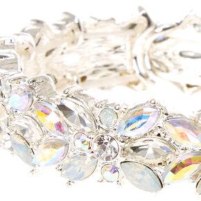Silver Crystal Vine Bracelet,