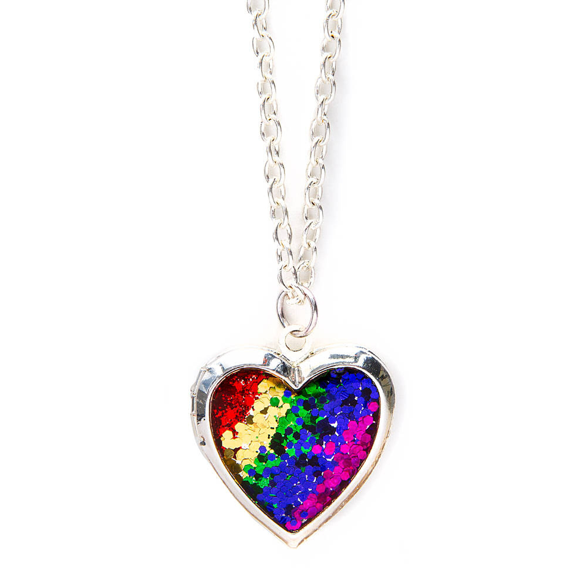 Rainbow Glitter Heart Locket Pendant Necklace  Claire's Us. Clear Glass Pendant. Fairytale Wedding Rings. Micro Pave Rings. Carrera Tag Heuer Watches. Weird Watches. Moissanite Rings. Inlay Earrings. Jewellery Pearls