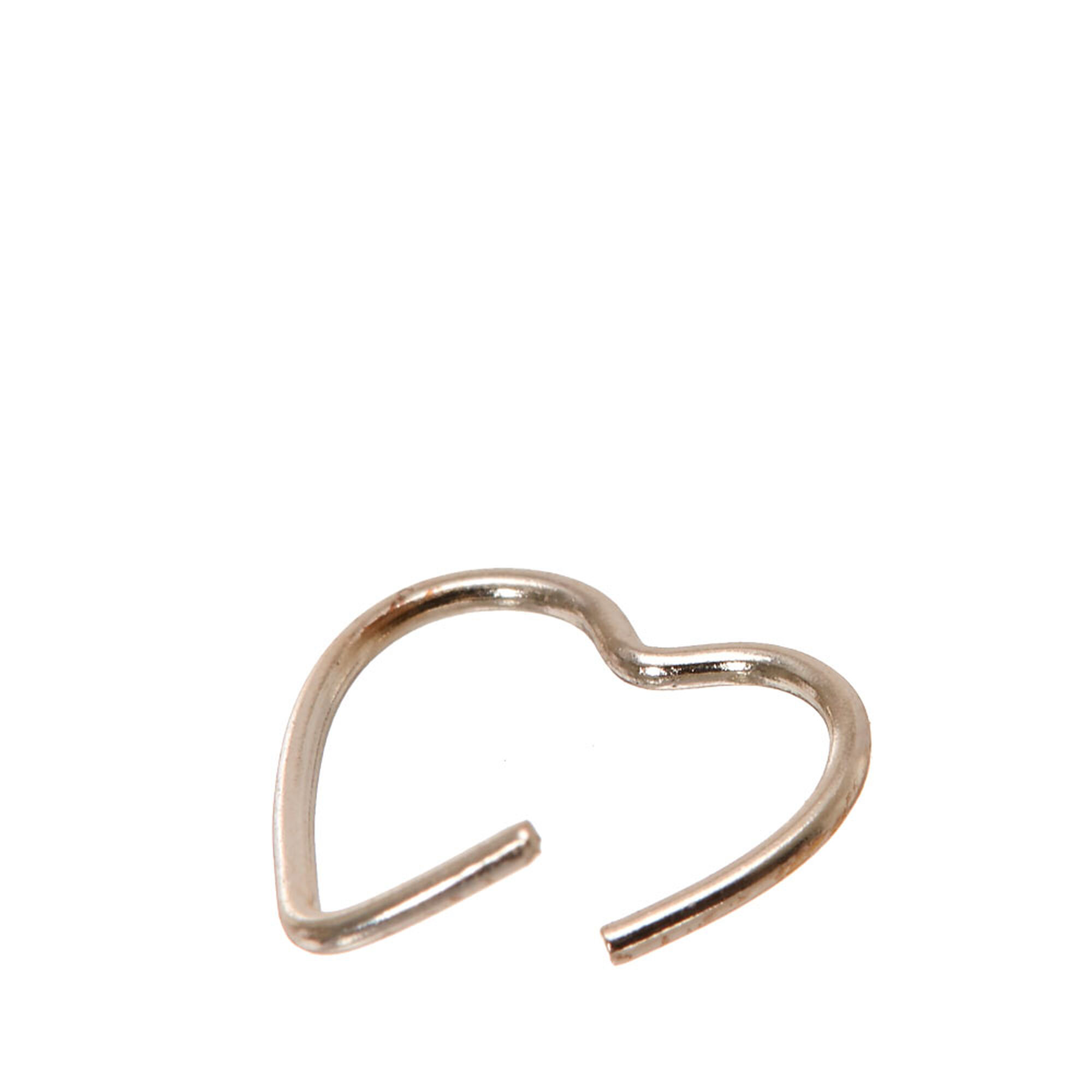 Sterling Silver Heart Hoop Earrings Heart Shaped Hoops 14k