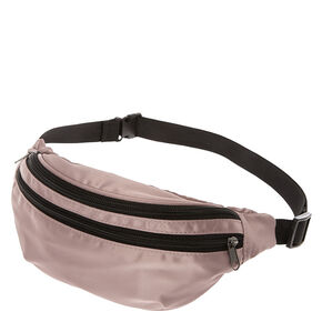Satin Blush Pink Fanny Pack,