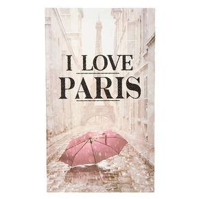 I Love Paris Umbrella Canvas,