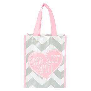 Food, Sleep and Wi-Fi Small Tote Bag,