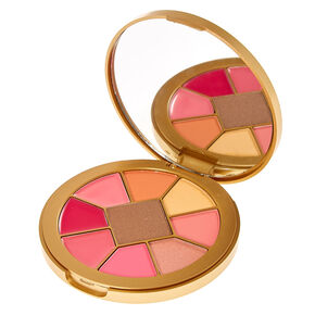Eye and Lip Round Makeup Palette,