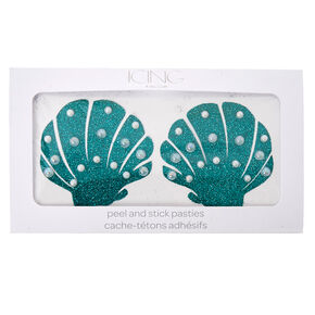 Mermaid Shell Peel And Stick Pasties,