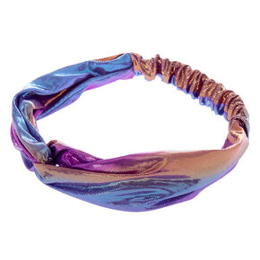Holographic Mermaid Headwrap,