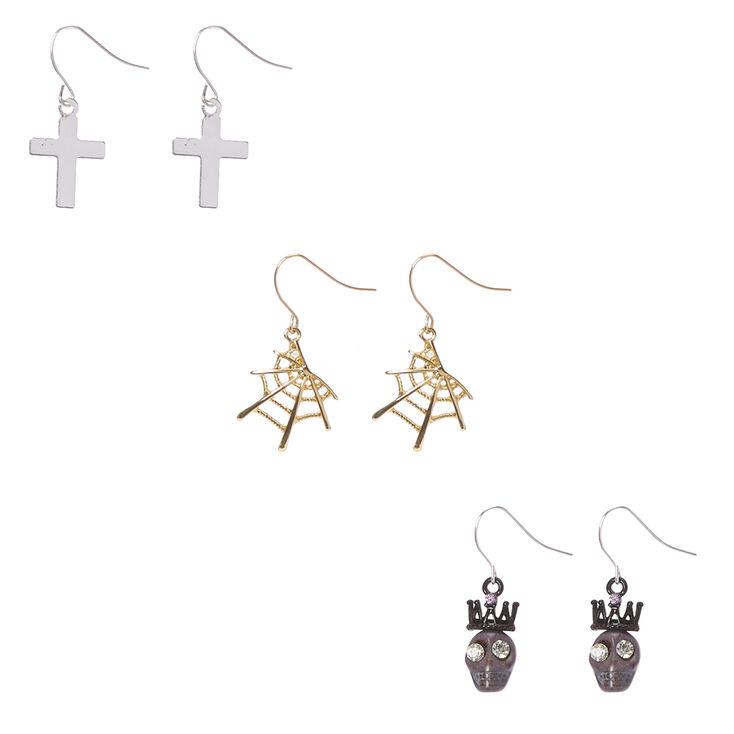 3 Pack Halloween Drop Earrings,