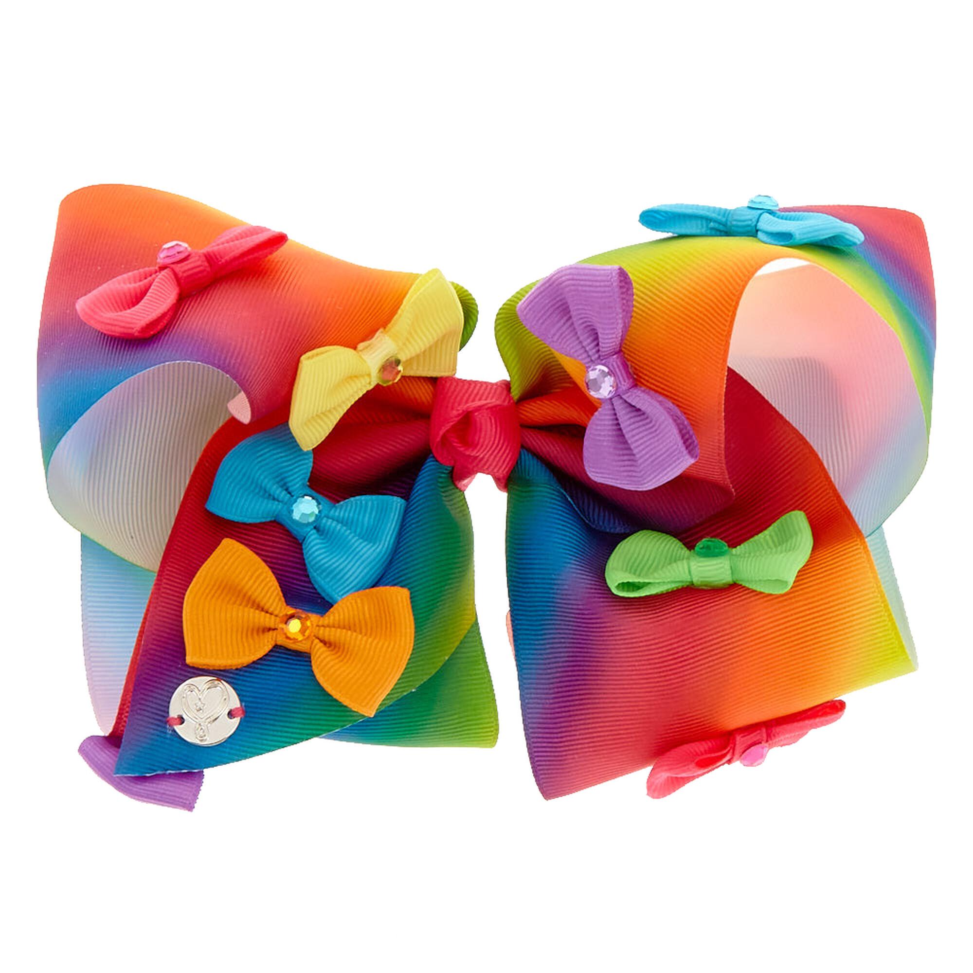 JoJo Siwa Large Rainbow Bow Power Hair Bow | Claire's US