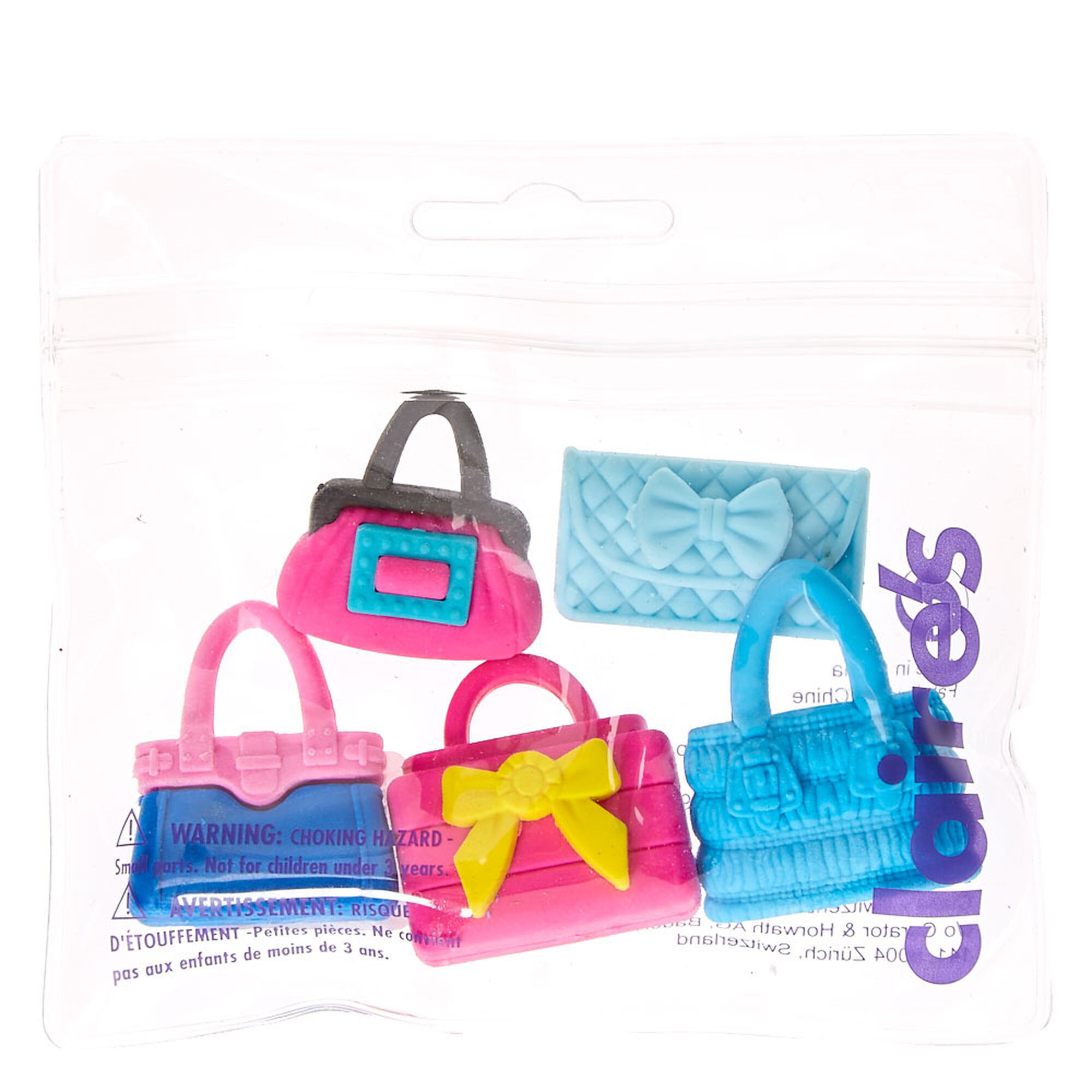 shopping bags eraser pack claire u0027s us
