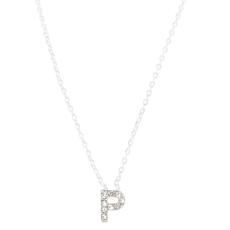 P Pendant Necklace,