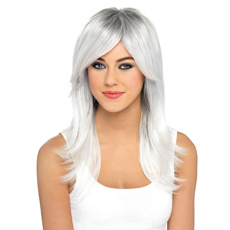 Premium Grey Wig,