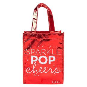 Holiday Sparkle Small Reusable Tote Bag,
