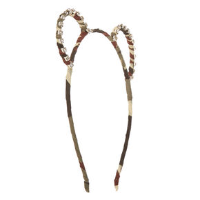 Camo Bear Ears Headband,
