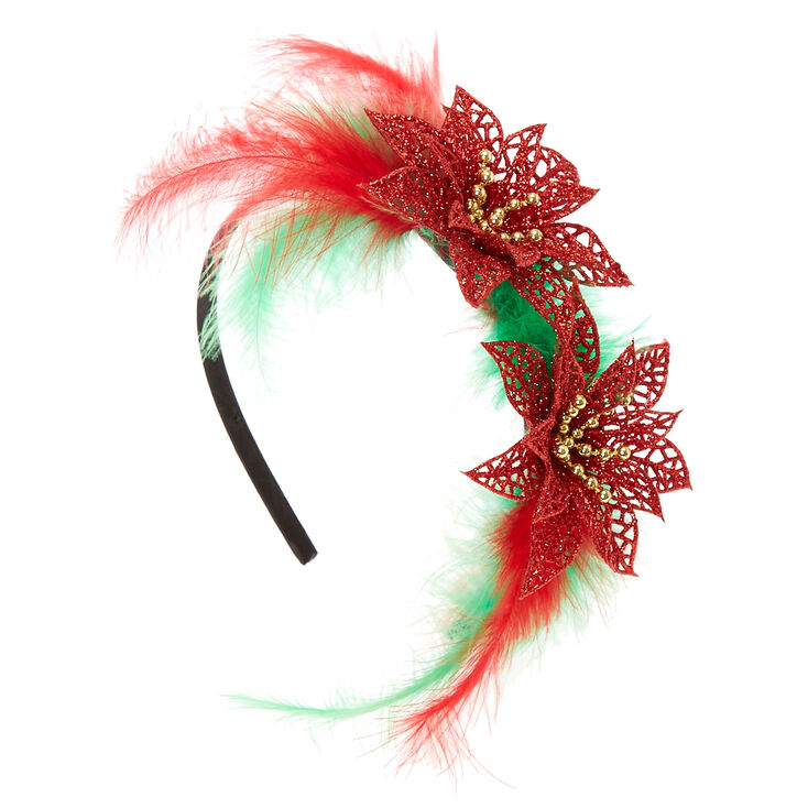 Poinsettia Headband,