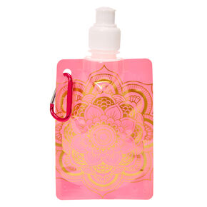 Pink Mandala Soft Flask,