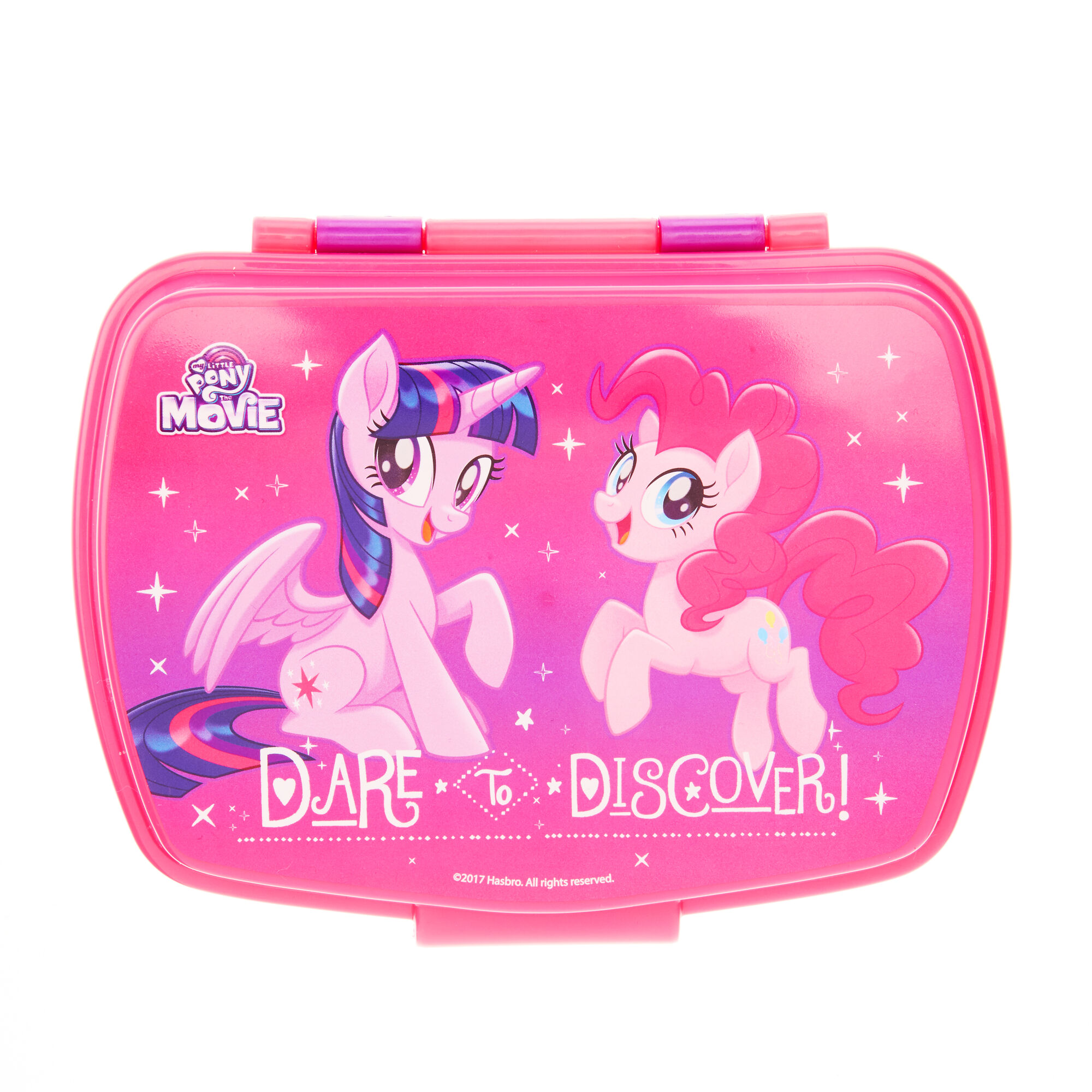 my little pony movie lunch box claire 39 s. Black Bedroom Furniture Sets. Home Design Ideas