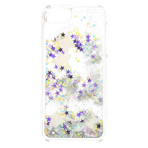 Glow In The Dark Big Star Liquid Fill Phone Case,
