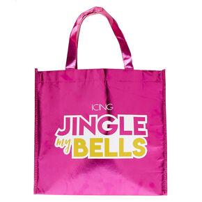 Large Holiday Reusable Tote Bag,