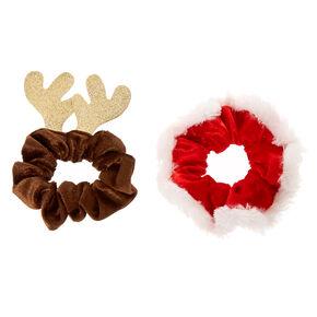 Reindeer Hair Clips & Scrunchies,