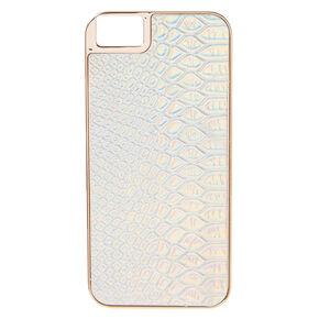 Gold Snake Skin Phone Case,