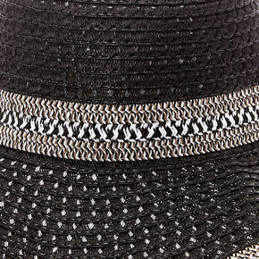 Floppy Black & White Sun Hat,