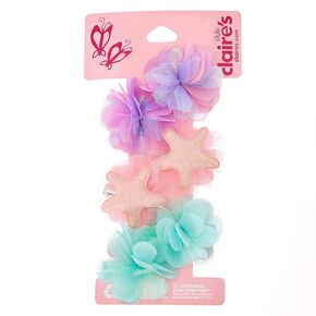 Kids Mini Mermaid Hair Clips,