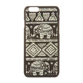 Aztec Elephant Glow in The Dark Phone Case,