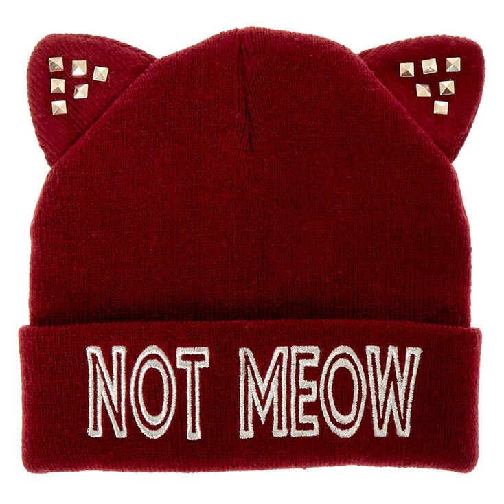 Not Meow Beanie,