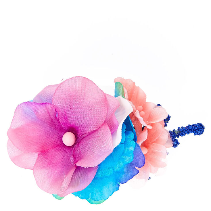 Tropical Mermaid Flower Hair Clip at Icing in Victor, NY | Tuggl