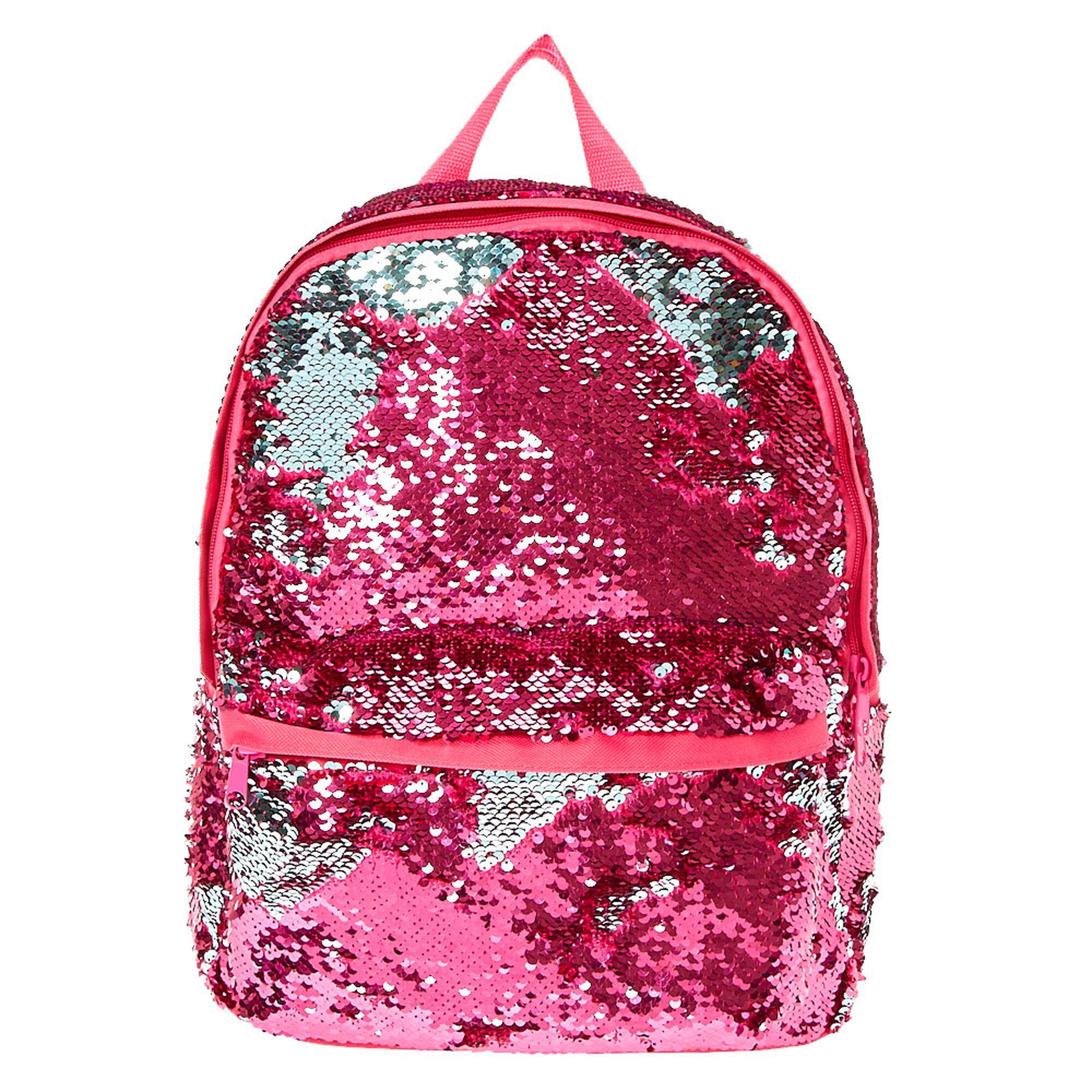 """Résultat de recherche d'images pour """"claire's pink glitter backpack"""""""