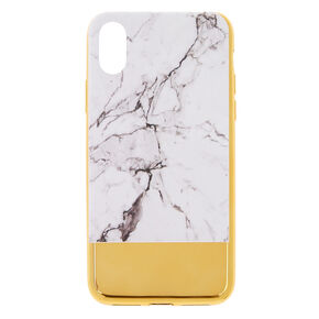 Metallic Gold Bar Marble Phone Case,