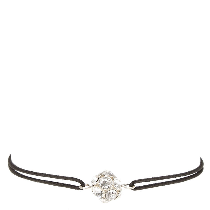 Black Stretch Bracelet with Fireball Charm at Icing in Victor, NY | Tuggl