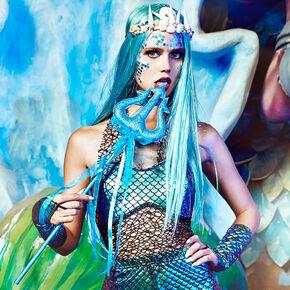 Turquoise Mermaid Trident,