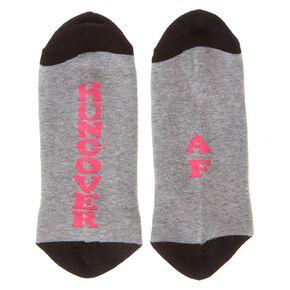 HUNGOVER AF Ankle Socks,