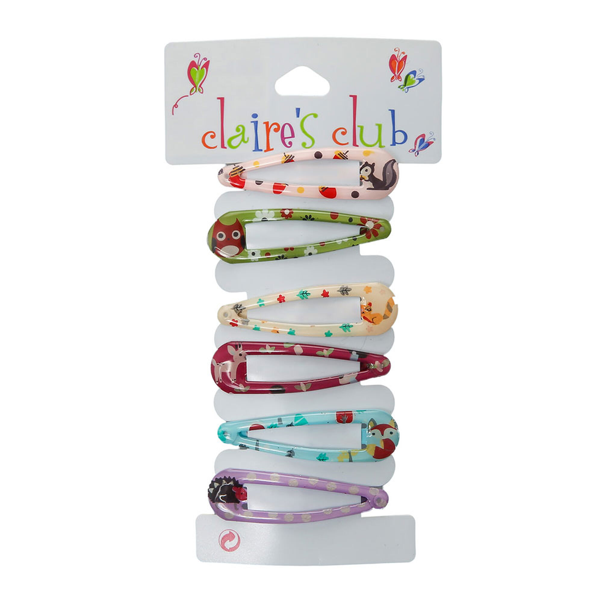 barrettes clic clac motif for t pour enfants claire 39 s fr. Black Bedroom Furniture Sets. Home Design Ideas