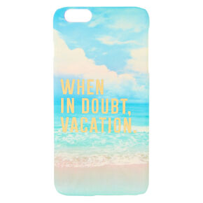 When In Doubt Vacation Phone Case,