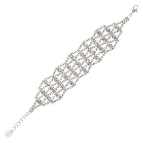 Multistrand Rhinestone Bracelet,