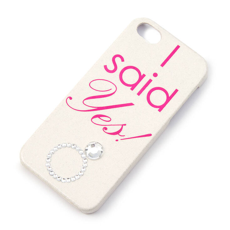 I Said Yes Phone Case,