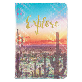 "Explore Cactus 7-8"" Tablet Case,"
