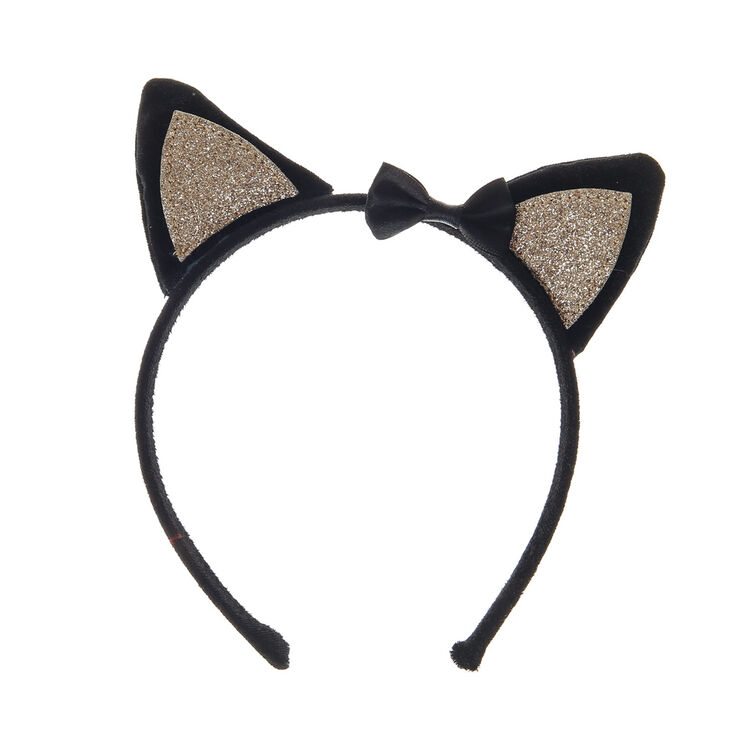 Glitter Kitty Cat Ears Headband Halloween Fancy Dress Cat Woman Hairband, Cat Headband - 30 cols available Cat-sessorize! Find this Pin and more on Gift ideas for christmas by Aelin Simone. Get ready for Halloween with these fab and most sparkly cat ears.